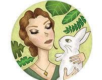 Botanical Girl - Bunny