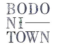 BODONI TOWN typeface