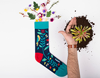 Scout Editions x Look Mate London Socks
