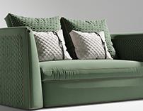 Custom Sofa design in interior project
