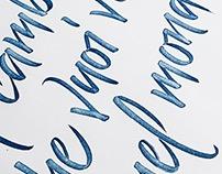 2016 - Calligraphy quotes.
