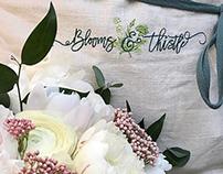 Blooms & Thistle | Logo Design