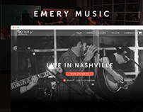 Emery Concept Website
