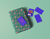 collection of patterns for wrapping paper