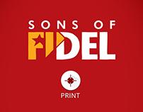 """Folheto: Documentário """"Filhos de Fidel"""""""