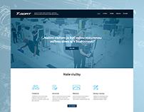 T-Sort - Website design