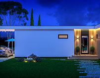 Модульный дом площадью 130 кв.м