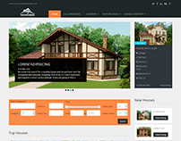 Real Estate November - Free Joomla template