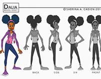 Character Design: Dalia