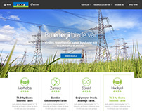 Aksa Elektrik // New Website