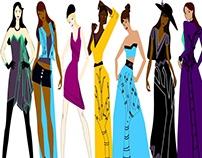 Fashion Illustration and Garments by Shelley Davis