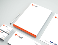 Corporate identity for a recruitment company