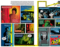"New York Magazine ""Andrew Wiley"" Comic Spread"