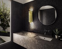 Decorated Bathrooms With Luxury Furniture