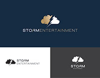 Storm Entertainment Branding