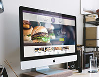 BurgerBaren - Responsive website design