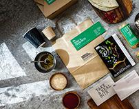 Mantoushe Packaging & Menu