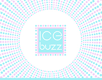 "Branding for ice cream cafe ""IceBuzz"""