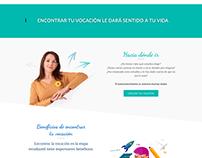Diseño web · Coach vocacional