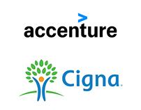 Accenture and Cigna