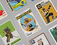 Vintage Hockey Trading Cards