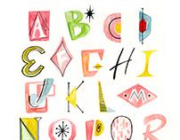 Mid-Century Alphabet