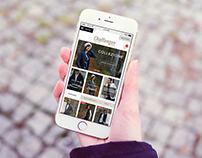 WEB / UI DESIGN: Moda Challenger (Italy)