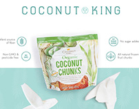 Coconut King Branding