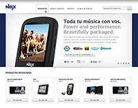 Noblex Website