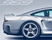 PORSCHE 959 - concept