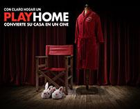 PLAYHOME - Claro Hogar (Chile)