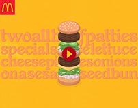McDonald's Canada - My McD's App Promos