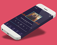 Music Player App UI Concept