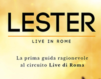 Lester - Live in Rome - Website