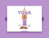 UI Challenge 02 - Yoga workout