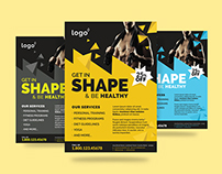Fitness / Gym Flyer Template