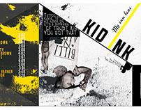 Album cover design Kid Ink - My own lane (design 2015)