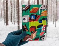 sketchbook cover for FALAFELBOOKS