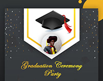 Graduation Party Whatsapp Card