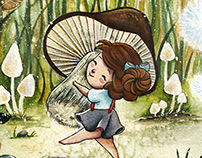 Mushroon - Children Illustration