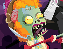 Revista ¡elé! - Terror Characters Zombies