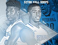 Seton Hall Basketball Program Covers