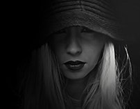 """Photography """"Hooded portrait"""" 2016"""