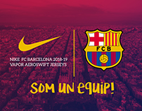 Nike FC Barcelona 2018-19 Home Jersey + Concepts