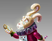 Alice in Wonderland VisDev
