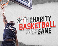 Torrey Smith Charity Basketball Game Flyer