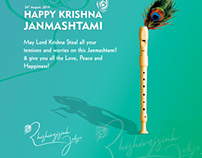 Janmashtami social media post