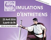 SIMULATIONS D'ENTRETIENS - 2016