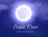 Purple Moon | Sign In