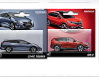 Honda Range. Toy Packaging Campaign